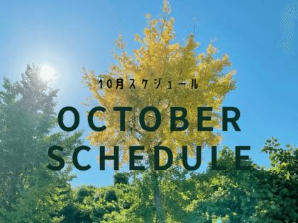 ヨガソルナ・10月スケジュール
